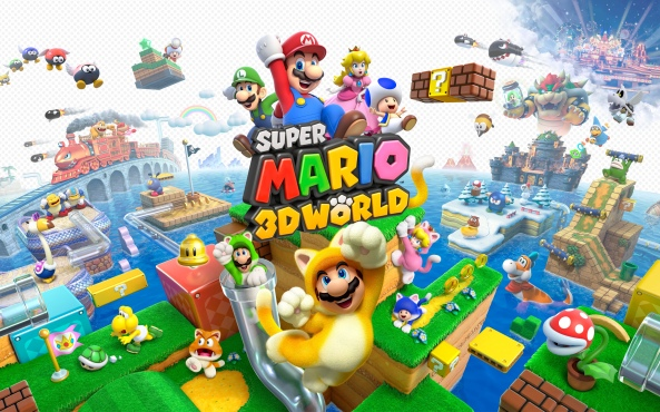 super mario 3d world titre