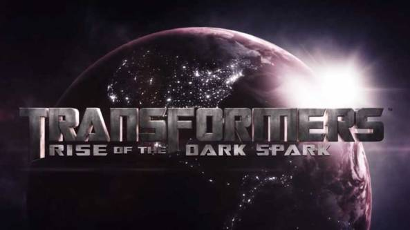 Transformers The Dark Spark title