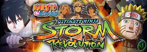 Naruto SUNSR gameplay  title